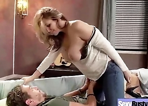 (julia ann) Join in matrimony Almost Big Melon Tits In Coitus Role of clip-18