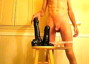 Ass Improbable Replica Anal Huge Black Dildos Fucking