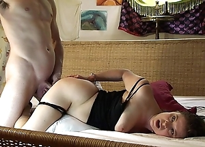 Caught in handcuffs naked I get my neighbor to help - Erin Electra