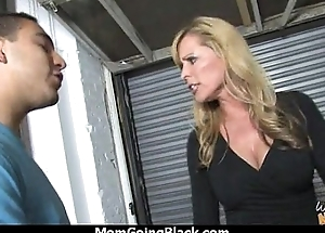 Watching a sexy milf going interracial 8