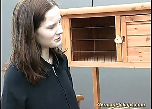 cute german legal age teenager picked up for anal