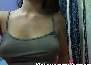 Big Confidential on Cam Without Bra: More on naughty-cam.com