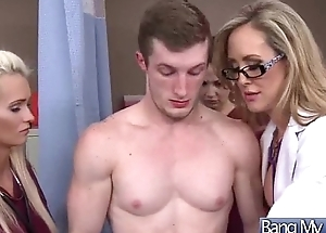 Sex Between Hot Sexy Patient Together with Torrid Pollute (brandi love) vid-06