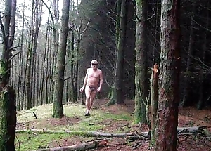 Unseat rural area all over panties and getting naked