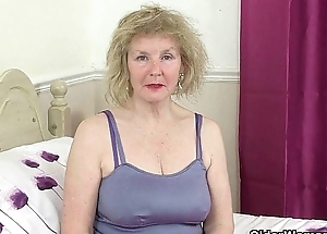 British grannies Pearl together with Zadi give their old pussy a delicacy