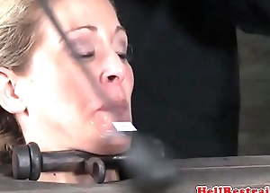 Haunted Cherie Deville dildo penetrated
