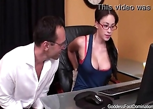 Sexy Nerd Makes Uncle Cum Very Hard Just about Her Smelly Feet