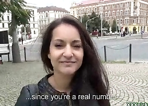 Public Pickup European Girl Gives Teeny-bopper Prevalent Public Twenty