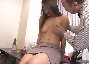 Asian babe Satomi Suzuki is ready approximately fuck her boss