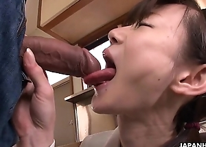 Asian cuttie cleaning their way brother'_s rally screw-up