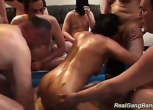 oiled stepmom in their way first team fuck